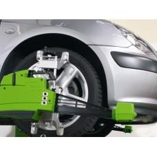 Alinhamento dianteiro + Balanceamento em 4 rodas +  (Linha Leve) + Rodizio de Pneus