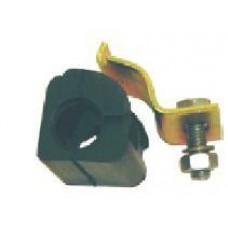 KIT BUCHA BARRA ESTABIBIZADORA DIANTEIRA (17mm) BROKITS   (CORDOBA 2000  ATÉ 2002) (GOLF 1994  ATÉ 1998) (IBIZA 2000  ATÉ 2002) (POLO CLASSIC 1996  ATÉ 2001) (VAN 1998 EM DIANTE)