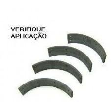 LONA FREIO TRASEIRO (STANDER) BENDIX   (BRASILIA 1973  ATÉ 1982) (SP2 1972  ATÉ 1976) (TL 1970  ATÉ 1975) (VARIANT 1969  ATÉ 1980)