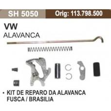 KIT REPARO ALAVANCA FREIO MÃO SHANA   (BRASILIA 1973  ATÉ 1982) (FUSCA 1953  ATÉ 1996)