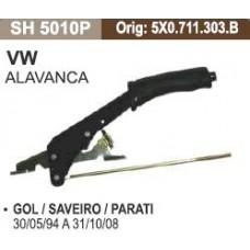 ALAVANCA FREIO MÃO SHANA   (GOL/ 05/1994  ATÉ 10/2008) (PARATI 05/1994  ATÉ 10/2008) (SAVEIRO 05/1994  ATÉ 10/2008)
