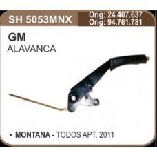 ALAVANCA FREIO MAO SHANA   (MONTANA 2011 EM DIANTE)