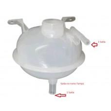 RESERVATORIO AGUA RADIADOR (2 SAIDA) FLORIO   (CORSA CLASSIC 2006 EM DIANTE)