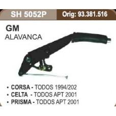 ALAVANCA FREIO MÃO SHANA   (CELTA 2001 EM DIANTE)  (CORSA 1994  ATÉ 2002) (PRISMA 2001 EM DIANTE)