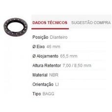 RETENTOR RODA DIANTEIRA (INTERNO/EXTERNO) SABÓ   (BELINA 1978 EM DIANTE)  (CORCEL 1978 EM DIANTE)  (DEL REY  ) )  (PAMPA  ) )
