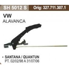 ALAVANCA FREIO MAO (COMPLETA) SHANA   (QUANTUM 1999 EM DIANTE)  (SANTANA 1999 EM DIANTE)