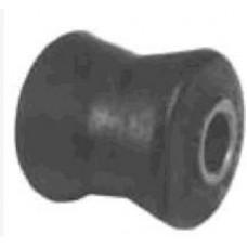 BUCHA AMORTECEDOR TRASEIRO (INFERIOR E SUPERIOR) AXIOS 12mm INFERIOR/SUPERIOR  (S10 1995 EM DIANTE)
