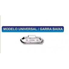 CHUMBO/CONTRAPESO 40 GRAMA (RODA FERRO GARRA BAIXA) BRUNOCAR   (UNIVERSAL  ) )