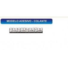 CHUMBO/CONTRAPESO COLANTE 5/10 GRAMA (RODA ALUMINIO) BRUNOCAR   (UNIVERSAL  ) )
