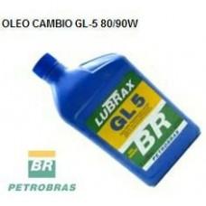 OLEO 80W90 CAMBIO/DIFERENCIAL LUBRAX