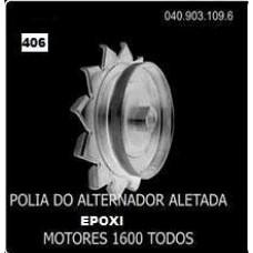 POLIA ALTERNADOR/ALETADA (EPOXI) POLIAUTO   (BRASILIA  ) )  (FUSCA  ) )  (GOL/  ) )  (KOMBI  ) )  (SAVEIRO  ) )  (TC  ) )  (TL  ) )  (VARIANT  ) )