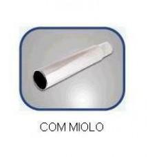 PONTEIRA ESCAP/CROMADA (C/MIOLO CURVA) PRIS LUX   (FUSCA  ) )  (UNIVERSAL  ) )