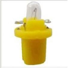 LAMPADA BASE PLASTICA (AMARELO 12V/1.5W) GB   (VECTRA  ) )
