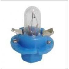 LAMPADA BASE PLASTICA (AZUL 12V/1.2W) GB   (S10  ) )