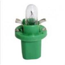 LAMPADA BASE PLASTICA (VERDE LIMAO 12V/2W) GB   (CELTA  ) )  (CORSA  ) )  (D20  ) )  (GOL/  ) )  (IPANEMA  ) )  (KADETT  ) )  (TROLLER  ) )  (UNO  ) )