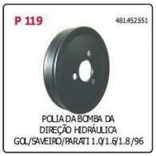 POLIA BOMBA DIRECAO HIDRAULICA POLIAUTO   (GOL/ ATÉ 1996) (PARATI ATÉ 1996) (SAVEIRO ATÉ 1996)