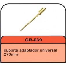 SUPORTE ADAPTACAO SILENCIOSO (270 mm) G REHDER ARTEFATOS DE BORRACHAS LTDA   (UNIVERSAL  ) )