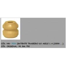 BATENTE AMORTECEDOR TRASEIRO (BATENTE HASTE) ELASTOPUR   (AGILE  ) )