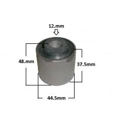 BUCHA SUSPENSÃO BRAÇO DIANTEIRO   (Reto  12mm) JAHU (44,3 x 12,2 x 49,5)  (FUSION 2006  ATÉ 2012)