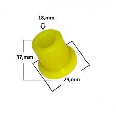 BUCHA SUSPENSÃO FEIXE MOLA (Dianteiro e Traseiro) JAHU (35x30x18mm)  (HILUX  ) )