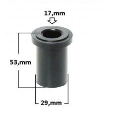 BUCHA SUSPENSÃO FEIXE MOLA DIANTEIRA JAHU (18x30x53)  (HILUX  ) )