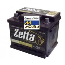 BATERIA (45 amperes/base de troca) ZETTA FREE