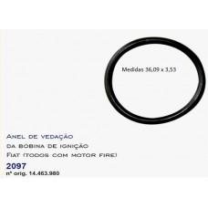 ANEL VEDACAO SUPORTE BOBINA IGNICAO (Retentor) DSC   (DOBLO 2001 EM DIANTE)  (FIAT 500 2012 EM DIANTE)  (FIORINO FIRE  ) )  (PALIO  ) )  (SIENA  ) )  (STRADA  ) )  (UNO MILLE  ) )