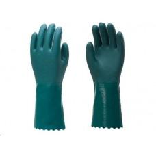 (USO INTERNO) LUVA PROTECAO CONTRA AGENTES MECANICOS PVC BRUNOCAR   (UNIVERSAL  ) )