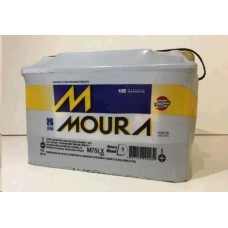 BATERIA (75 amperes/base troca) MOURA