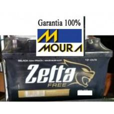 BATERIA (100 amperes/base troca) ZETTA FREE