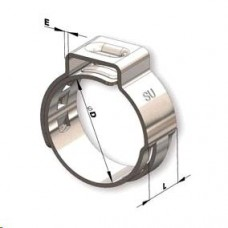 ABRACADEIRA RADIAL (INJECAO) (12,8 diametro 10,3 x 12,8mm largura 7mm) TOGWAL   (UNIVERSAL  ) )