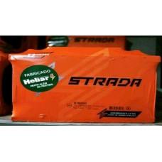 BATERIA (45 amperes/base de troca) STRADA BATERIAS