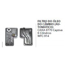 FILTRO OLEO CAMBIO AUTOMATICO TRANSLX (Caixa 6T70)  (CAPTIVA  ) )