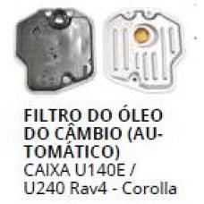 FILTRO OLEO CAMBIO AUTOMATICO TRANSLX (Caixa U140E/U240)  (COROLLA  ) )  (HILUX RAV4  ) )