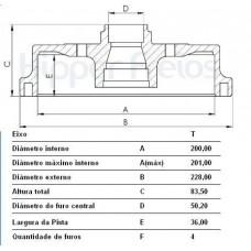 TAMBOR FREIO TRASEIRO (C/CUBO) MDS   (AGILE 2009 EM DIANTE)  (CORSA 1993  ATÉ 2001) (TIGRA 1998 EM DIANTE)