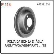 POLIA BOMBA DAGUA POLIAUTO   (PARATI ATÉ 1985) (PASSAT ATÉ 1985) (VOYAGE ATÉ 1985)