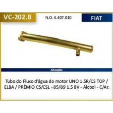 TUBO DAGUA REFRIGERACAO MOTOR (1 SAIDA) VALCLEI   (ELBA  ) )  (PREMIO  ) )  (UNO  ) )