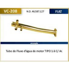 TUBO DAGUA REFRIGERACAO MOTOR (3 SAIDA) VALCLEI   (TIPO 1993  ATÉ 1997)