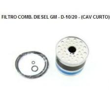 FILTRO COMBUSTIVEL OLEO DIESEL FRAM   (D10  ) )  (D20  ) )  (D40  ) )  (D60  ) )  (F4000  ) )