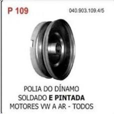 POLIA GERADOR/ALTERNADOR/SOLDADO (PINTADA/PRETO) POLIAUTO   (BRASILIA  ) )  (FUSCA  ) )  (KOMBI  ) )  (TC  ) )  (TL  ) )  (VARIANT  ) )