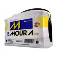 BATERIA (60 amperes/base troca) MOURA