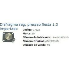 DIAFRAGMA REGULADOR PRESSAO LP   (FIESTA  ) )