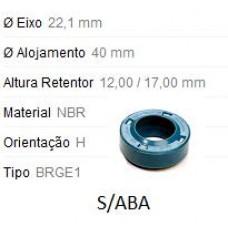 RETENTOR EIXO PILOTO (C/S/ABA) FIBRAMA   (BRASILIA 1973 EM DIANTE)  (FUSCA 1973 EM DIANTE)  (GOL/ 1973 EM DIANTE)  (KOMBI 1973 EM DIANTE)  (SAVEIRO 1973 EM DIANTE)  (VARIANT 1973 EM DIANTE)