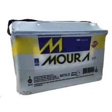 BATERIA 75 (Amperes/base troca) MOURA